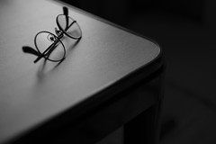 """a pair of glasses on the table <a style=""""margin-left:10px; font-size:0.8em;"""" href=""""http://www.flickr.com/photos/59773822@N02/38942109152/"""" target=""""_blank"""">@flickr</a>"""
