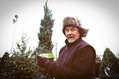 TREE TIME (janette_j) Tags: ogden utah merry christmas winter tis season ektar 100 pushed 2 stops nikon n65 tree hunting surprised