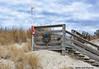 Beach Christmas (scottnj) Tags: beach stairs flag sky wreath christmas scottnj scottodonnellphotography sand dune dunes