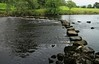 Stepping Stones (RoystonVasey) Tags: canon eos m 1855mm stm zoom north yorkshire dales ydnp west burton aysgarth river stepping stone