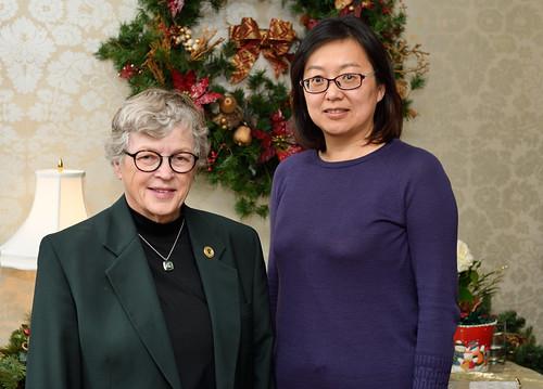 Fall President's Graduate Reception, November 2017