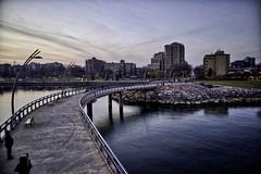 Downtown Pier (Gerry Lewicki) Tags: burlington water sky pier downtown lake ontario building