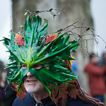 Greenman at the Stonehenge Winter Solstice 2017