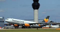 G-MDBD Thomas Cook J78A1304 (M0JRA) Tags: gmdbd thomas cook manchester airport planes flying jets biz aircraft pilot sky clouds runways
