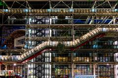 Pompidou 2017 (oZopanda - David Cívico) Tags: francia paris pompidou museos nocturnas sony a7 ii