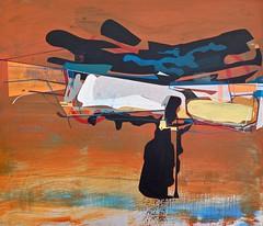 Jim Harris: Orbital. (Jim Harris: Artist.) Tags: art space weltraum list abstractart contemporaryart zeitgenössische painting peinture avantgarde