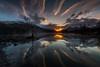Lone Tree Llyn Padarn (E_W_Photo) Tags: llyn padarn llanberis wales snowdonia lake conwy sunrise mountain tree lone water mist