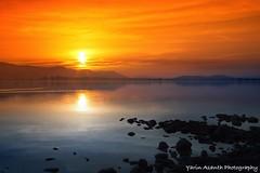 You are so beautiful when you smile (Yarin Asanth) Tags: sunset sun surface water smile silk winter orange yarin'sorangeseason lakeconstance yarinasanthphotography gerdkozikfotografie gerdmichaelkozik