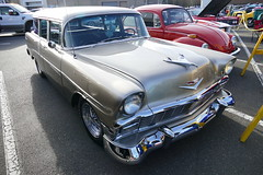 56 Chevy Wagon (bballchico) Tags: 1956 chevrolet stationwagon carshow newyearscoolcarcruise