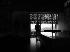 IMG_2801_AAHC_Man_silhouette_b&w_201711 (Stephenie DeKouadio) Tags: canon photography dc dcphotos dcurban urban urbandc washington washingtondc blackandwhite monochrome man silhouette light shadow shadows window