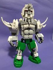 Doomsday action figure (Tony the light) Tags: lego legosuperman dccomics dc legosuperhero