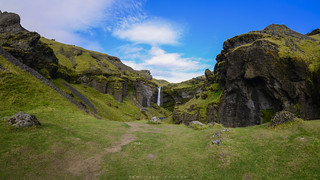 Way to Kvernufoss | Panorama