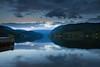Hardanger (Ulvik) (abraham.s) Tags: hardangerfjord fjord ulvik norway fiyort norveç alacakaranlık ay deniz yansıma iskele rıhtım bulutlar twilight moon clouds water reflection sea seaside pier dock quay light mountain out outdoor beautiful scenery manzara