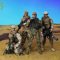 №498 (OylOul) Tags: 16 action figure damtoys combat gear uniform outfit weapon