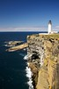 An Luminous Beam (4oClock) Tags: orkney nikon d90 18105 nikkor islands scotland britain uk north archipelago westray island summer westraak atlantic ocean cliffs rocks sea nlb lighthouse nouphead stevenson headland light