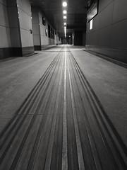 Lines (VauGio) Tags: portasusa railwaystation stazione corridoio torino turin leica bianconero blackwhite huawei p10 lacittàmetropolitanaditorinovistadavoi