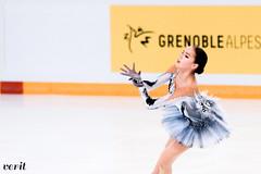 Alina Zagitova (asveri) Tags: alinazagitova figureskating isufigureskating ifp2017 grandprix grandprixfrance practice internationauxdefrance