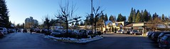 Parkgate Shopping center pre Chrismas (D70) Tags: indianriver northvancouverdistrict britishcolumbia snow traffic parkgate shopping center pre chrismas 5deg cold winter