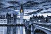 Snowy Big Ben (Jim Nix / Nomadic Pursuits) Tags: bigben england europe hdr jimnix lightroom london macphun nikon nomadicpursuits parliament tonality uk westminster blackwhite landmark monochrome photography travel twilight