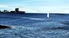 The Tay at Broughty Ferry, December 2017 (ronramstew) Tags: river tay 2017 2010s boats sailing boxingday dinghy castle