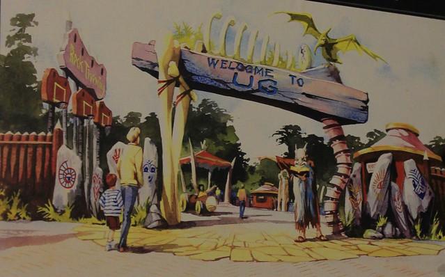 Ug Land Entrance Concept