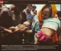CNN year in pictures (auniket prantor) Tags: crisis muslim flee bangladesh genocide myanmar photojournalist news migration family refugee2017 reportage violence conflict risk ethnic cleansing children child cross border hazardous situation unhealthy victim state less lifestyle women man food cook poverty refugee camp life inside rohingya