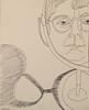 2017.10.08 In the Mirror (Julia L. Kay) Tags: juliakay julialkay julia kay artist artista artiste künstler art kunst peinture dessin arte woman female sanfrancisco san francisco sketch dibujo selfportrait autoretrato daily everyday 365 self portrait portraiture face dpp dailyportraitproject pen paper ink