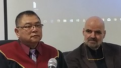 Two professors of martial arts