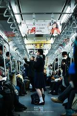 Tokyo City Life (Pop_narute) Tags: tokyo japan japanese people life city train railway travel transport street