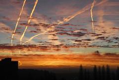 Early Morning (petrk747) Tags: skyofwinter sky redsky heaven earlymorning outdoor image sunset sunrise cloud clouds nikon nikond500
