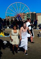 PolarBearPlunge2018-4(NY) (bigbuddy1988) Tags: people portrait photography nikon d800 new usa nyc brooklyn art blue sky coneyisland newyork friends festival polarbearplunge dress woman