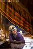 Riannon Colton by bacon in the Pyramid Passage (underarockphoto) Tags: middle earth cave greenbrier county west virginia raiders valley caves caving speleothems strike dip strata limestone