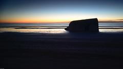 Past & present (Rind Photo) Tags: travel ww2 bunkers longexposure sunset architecture atmosphere historic beach coast seascape seashore german occupation vestkysten denmark nikkor nikondf rindphoto clauschristoffersen