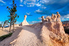 Brights Chimneys (VALV!DAL) Tags: brycecanyon brycecanyonnationalpark southusa usa usnationalparks rock clay canyon sand utah southernutah northamerica sierranevada sierranevadamountains erosion stalagmites rockformation olympus olympusem5markii photographer landscapesphotography landscape
