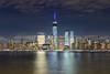 New York Skyline (rajaramki) Tags: newyorkcity skyline nightphotography exchangeplace freedomtower