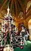 CHRISTMAS-TREE-Cage (bigbertha666) Tags: doll mask corset fetish maskedface maid sissy poser spielzeug sextoys gage ringgage bodyjewellery gloves fetishfashion lack plastic pvc rubber bondage