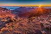 Christmas Dawn - Haleakala Crater (PaulBalfe) Tags: dawn hawaii haleakala crater sunrise volcano visitorcentre maui