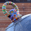 Mine Cosy (Andrew Gustar) Tags: mine yarn bomb knitted cosy bristol