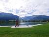 Wanderurlaub auf der Rudolfshütte - Zwischenstopp am Uttendorfer Badesee (gernotp) Tags: berg ort rudolfshütte salzburg see urlaub uttendorf wandern wanderurlaub grl5al grv4al österreich