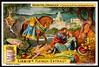 Liebig Tradecard S997 - Tancred Baptizes the Dying Clorinde (cigcardpix) Tags: tradecards advertising ephemera vintage liebig chromo