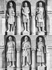 Bastion guardians (www.chriskench.photography) Tags: hungary xt2 copyright travel 18135 wwwchriskenchphotography kenchie europe fujifilm budapest hu statues figures monochrome bw blackandwhite