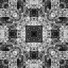 1650202226 (michaelpeditto) Tags: art symmetry carpet tile design geometry computer generated black white pattern