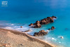El desembarco (Andres Breijo http://andresbreijo.com) Tags: mar orilla sea coast coastline playa beach rocas rocks nerja axarquia málaga andalucia españa spain