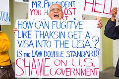 Angry About Some Guy Named Thaksin (Thomas Hawk) Tags: america bayarea california g gphotowalk northbeach northbeachdistrict photowalk sf sanfrancisco thailand thaksinshinawatra thanksin usa unitedstates unitedstatesofamerica westcoast politics protest fav10