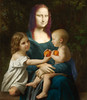 The mother (jaci XIII) Tags: pintura monalisa pessoa mulher criança montagem painting person woman child montage