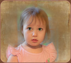 Just Turned Three (jta1950) Tags: kid kids child children person people girl fille little cute adorable enfant face