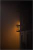 ... mood ... (Thomas Listl) Tags: thomaslistl color house building architecture fog night glow orange bricks balcony streetlamp urban würzburg evening dark mood atmosphere