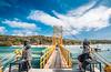 Yellow Bridge (PixelChariot) Tags: lembongan ceningan bali indonesia yellow bridge canon5d canon photography samyang14mm samyang bluesky clouds sea