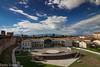 Cittadella (Padova) (paolotrapella) Tags: clouds nuvole sky sielo cittadella paese panorama mura italy canon1018 paesaggio strutture