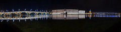 Toulouse by night (Benoit photography) Tags: 2017 beautiful city urban photographer photography photograph images pictures photos fotos bild street lightroom canon photoshop 6d toulouse long exposure panorama night time bridge